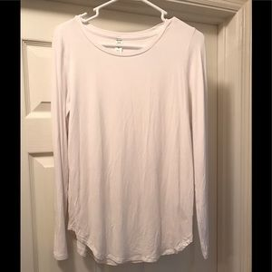 White Long Sleeve Old Navy Top